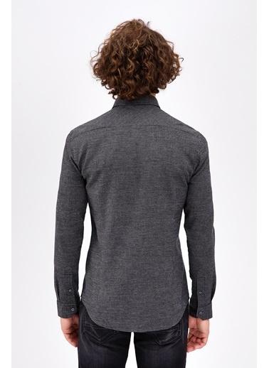 Avva Slim Fit Gömlek Siyah